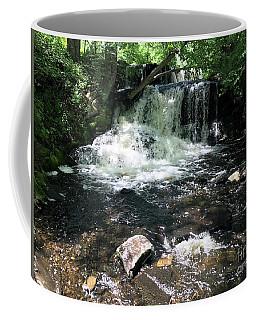 Cold Mountain Waterfall  Coffee Mug