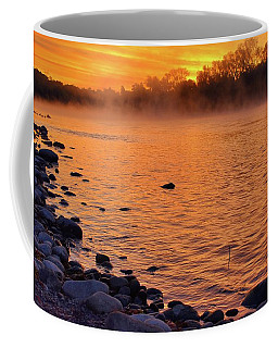 Cold November Morning Coffee Mug