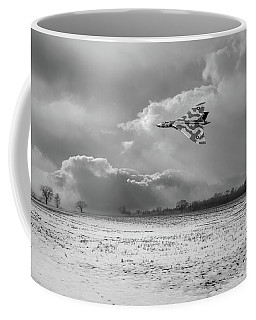 Coffee Mug featuring the photograph Cold War Warrior Bw Version by Gary Eason