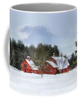Cold Winter Days In Vermont Coffee Mug