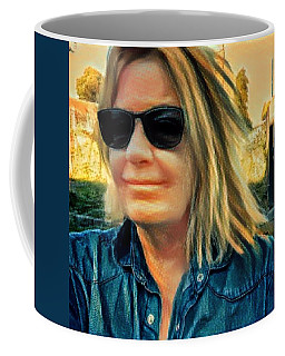 Coffee Mug featuring the photograph Colette September 2016 by Colette V Hera Guggenheim