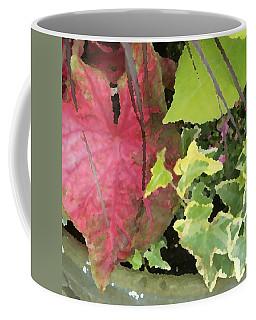 Coleus And Ivy Coffee Mug