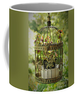Coleus In Vintage Birdcage Coffee Mug