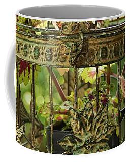 Coleus In Vintage Birdcage Coffee Mug