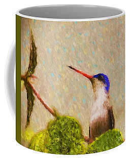 Coffee Mug featuring the photograph Colibri by John Kolenberg