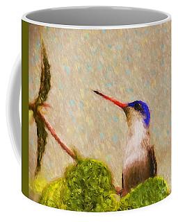 Colibri Coffee Mug by John Kolenberg