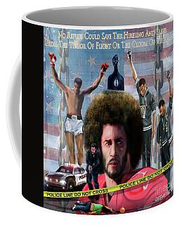 Colin Kaepernick Amongst The Brave Few 2a Coffee Mug