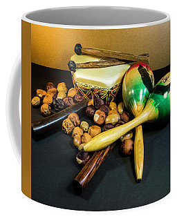 Collage Of Musical Instruments Coffee Mug