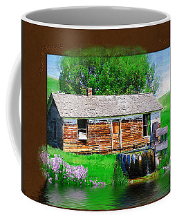 Coffee Mug featuring the photograph Collage by Susan Kinney