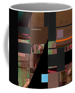 Coffee Mug featuring the mixed media Collage1 by Andrew Drozdowicz