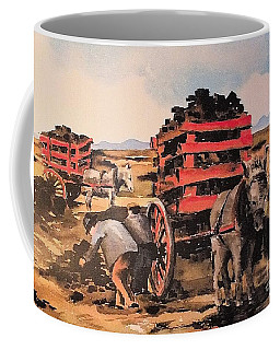 Collecting Turf  Coffee Mug