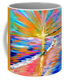 Collection Art For Health And Life. Painting 5. Energy  Of  Life Coffee Mug
