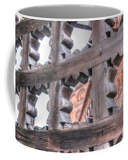 Coffee Mug featuring the pyrography Collegiate Grill by Yury Bashkin