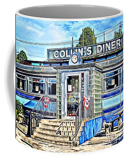 Collin's Diner New Canaan,conn Coffee Mug