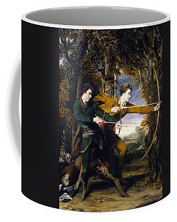 Colonel Acland And Lord Sydney The Archers Coffee Mug