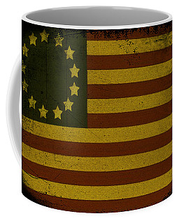 Colonial Flag Coffee Mug by Bill Cannon