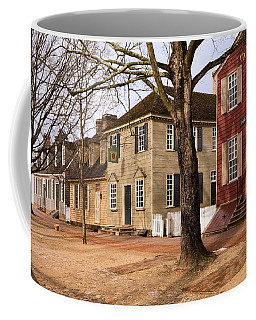 Colonial Street Scene Coffee Mug