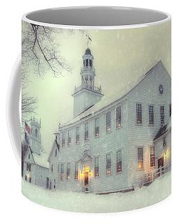 Colonial Winter Scene - Washington, Nh Coffee Mug