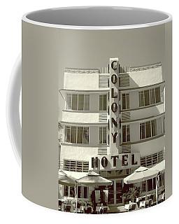Colony Hotel South Beach Coffee Mug
