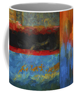 Color Abstraction Li  Coffee Mug