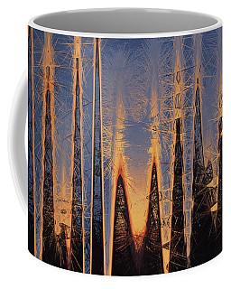 Color Abstraction Xl Coffee Mug