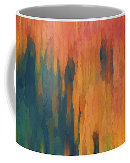 Color Abstraction Xlix Coffee Mug