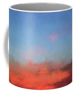 Color Abstraction Xlvii - Sunset Coffee Mug