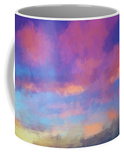 Color Abstraction Xlviii - Sunset Coffee Mug