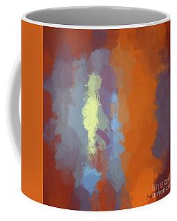 Color Abstraction Xxiii Sq Coffee Mug
