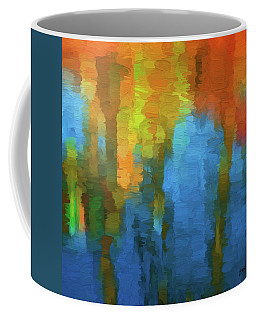 Coffee Mug featuring the digital art Color Abstraction Xxxi by David Gordon
