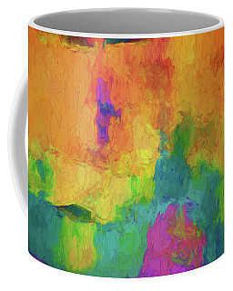 Color Abstraction Xxxiv Coffee Mug