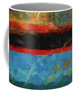 Color Abstraction Xxxix Coffee Mug