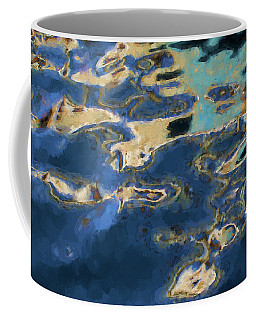Color Abstraction Xxxvii - Painterly Coffee Mug