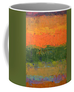 Coffee Mug featuring the painting Color Collage Four by Michelle Calkins