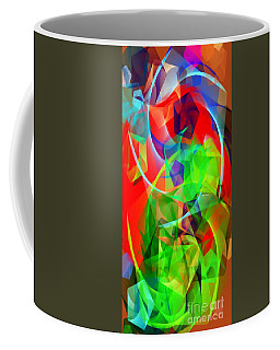 Coffee Mug featuring the digital art Color Dance 3720 by Rafael Salazar