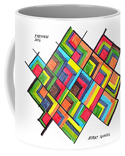 Color Exercise Coffee Mug by Paul Meinerth
