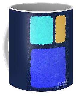 Color Fields Coffee Mug by Jutta Maria Pusl