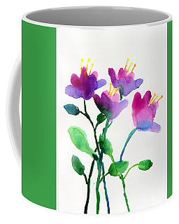 Color Flowers Coffee Mug
