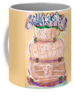 Color In A Wedding Cake Coffee Mug