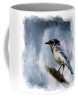Color Me Blue Coffee Mug by Cyndy Doty