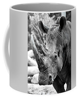 Coffee Mug featuring the photograph Color Me Rhino by John Haldane
