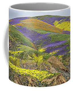 Color Mountain II Coffee Mug by Peter Tellone
