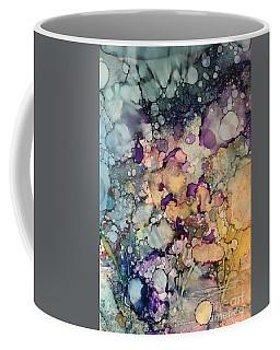 Purple Fire Coffee Mug