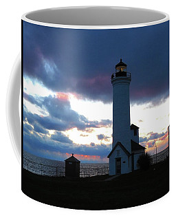 Color Of December, Tibbetts Point Lighthouse Coffee Mug
