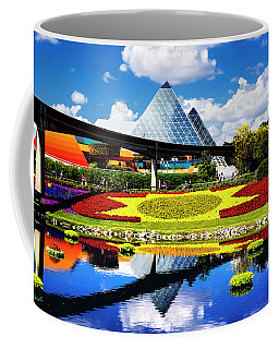 Coffee Mug featuring the photograph Color Of Imagination by Greg Fortier