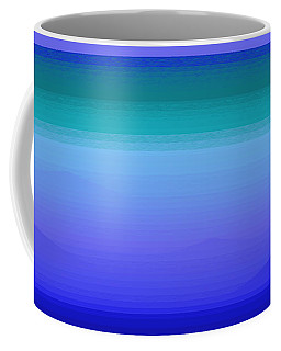 Coffee Mug featuring the digital art Color Of Water by Val Arie