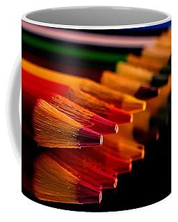 Color Pencils Coffee Mug by Elijah Knight
