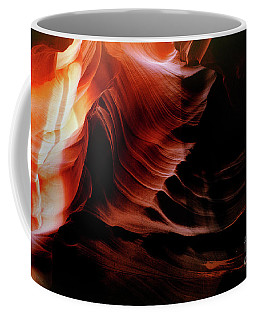 Color Upon The Depth Of Time Coffee Mug by Wernher Krutein