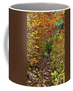 Cascade Mountain Range Color Vortex Coffee Mug