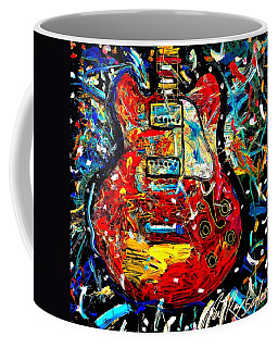 Color Wheel Guitar Coffee Mug
